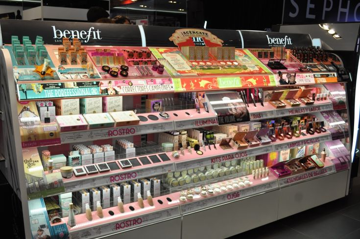 #BENEFIT, A BRAND FROM SAN FRANCISCO CALIFORNIA