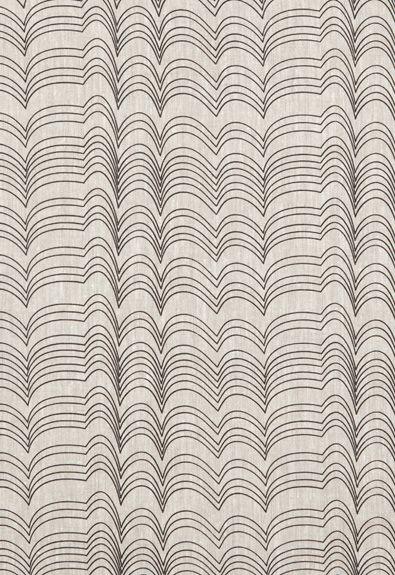 Schumacher Fabric RICHTER-BLACK | 100% Linen | Studio Bon