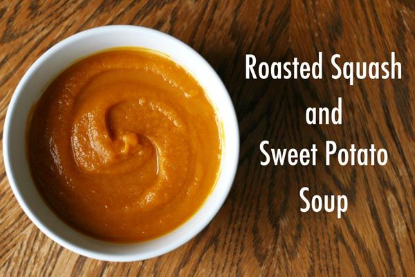 Sweet potato soup, Roasted butternut squash and Roasted butternut on ...