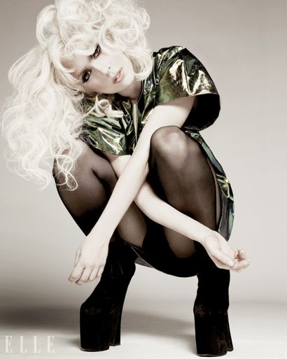 Lady Gaga - crazy lady, but love her songs!
