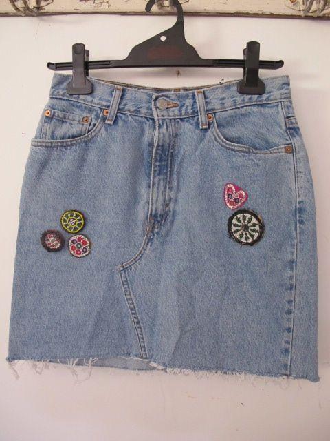 Vintage beach skirt.