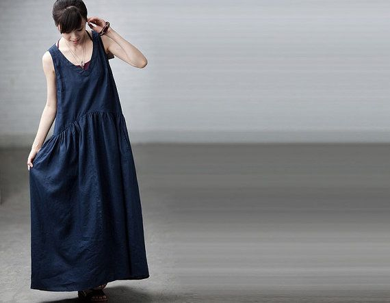 Hey, I found this really awesome Etsy listing at http://www.etsy.com/listing/130953638/maxi-dress-summer-dress-in-deep-blue