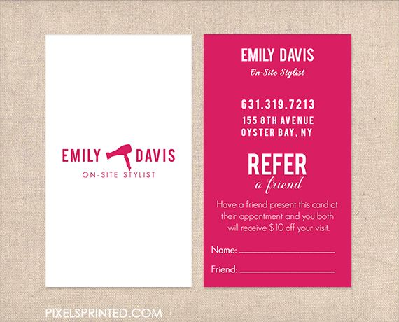 26 best All business images on Pinterest Business card design - referral coupon template