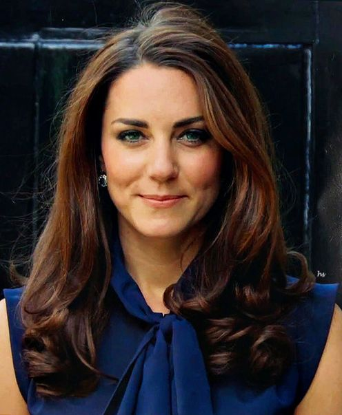 A beautiful portrait of Kate, I wonder if this is the photo they used for the official painted portrait.