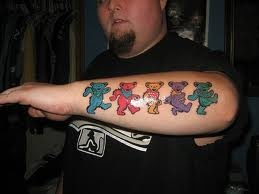 1000 images about the grateful dead on pinterest for Twisted tattoo chicago