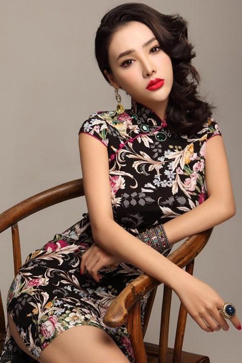 New Girls Slim Lace Chinese Cheongsam Women Elegance ... |Sweet Elegant Ancient Chinese Girl