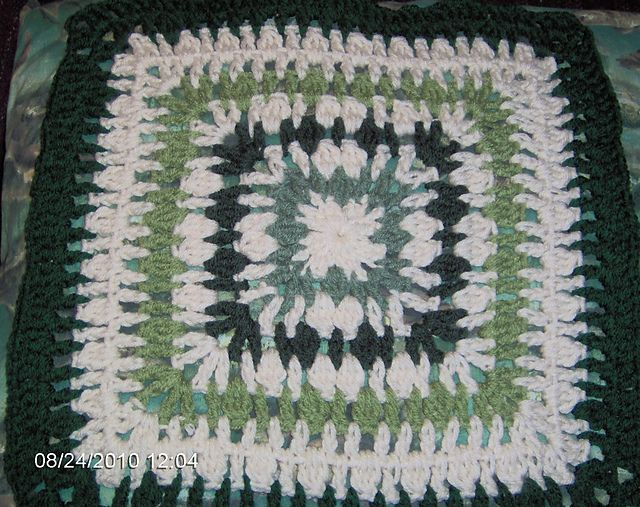 The C Word - Clusters 12x12 pattern by Donna Mason-Svara (SmoothFox)  ~ free pattern