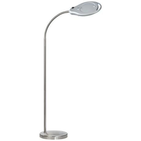 modern bathroom lighting illuminating experiences ledra. banner gooseneck magnifier silver led floor lamp modern bathroom lighting illuminating experiences ledra