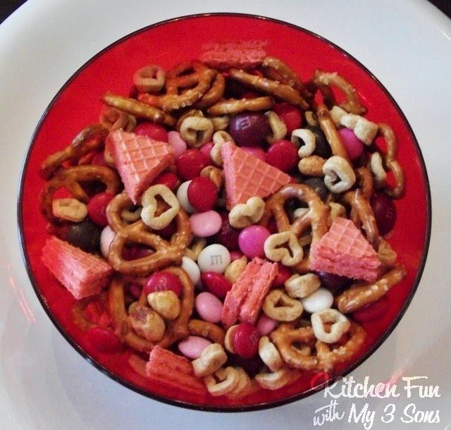 Kitchen Fun With My 3 Sons: Valentine Love Mix