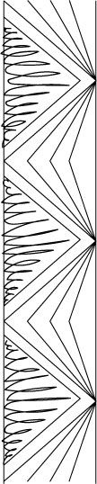 """Quilting triangles in the sashing - great """"how to"""""""