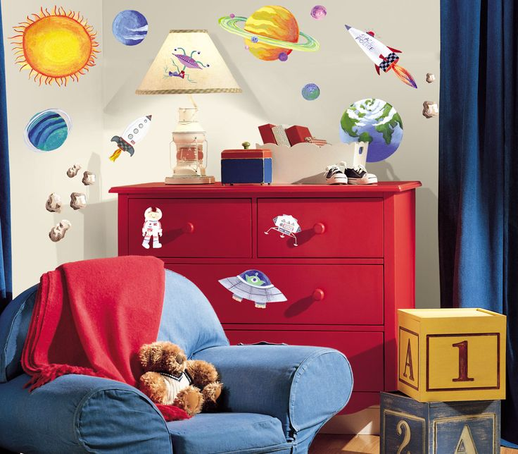 Outer Space Room Decor For Teen: 56 Best Nathan's Space Themed Bedroom Images On Pinterest