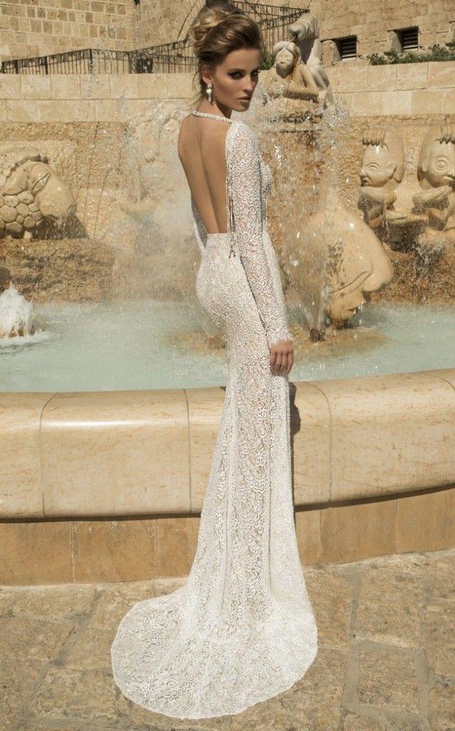 Galia Lahav Wedding Dress - Veneto Gown   -Backless, Long Sleeved Gown      Worldwide Collection Premiere: Galia Lahav's Much Anticipated La Dolce Vita {Part 2}