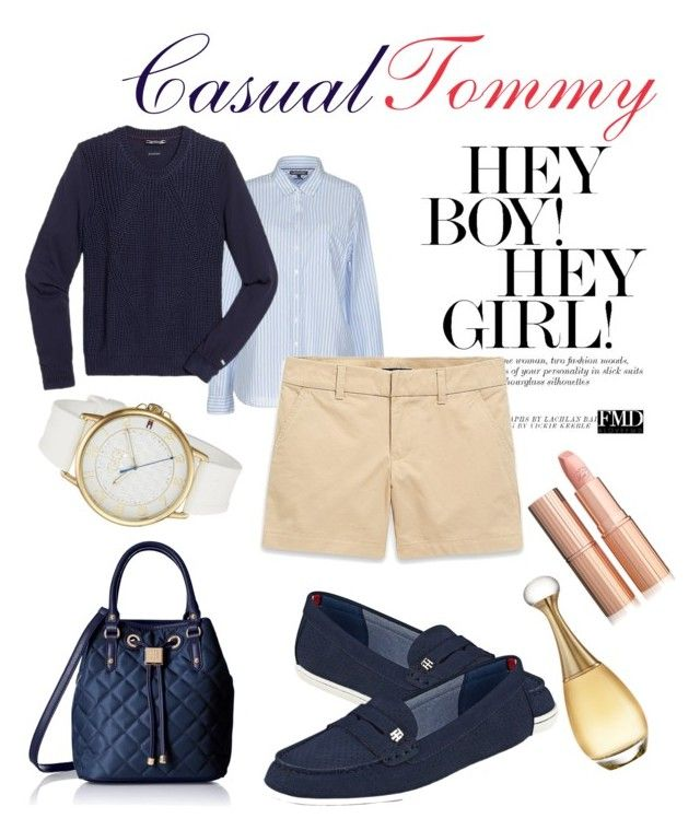 """""""Untitled #66"""" by nancykou on Polyvore featuring Tommy Hilfiger and Christian Dior"""