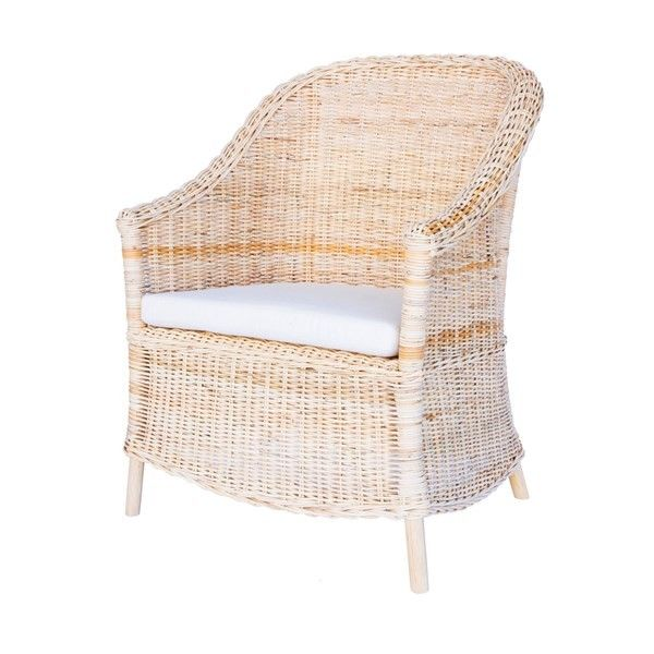 Rattan Arm Chair from The Well Appointed House