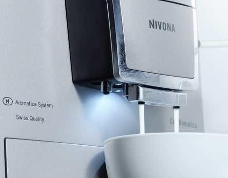 Plnoautomatický kávovar CafeRomantica 855