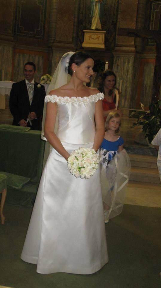 Ecco l'abito di Sara Attolito. www.cinziaferri.com