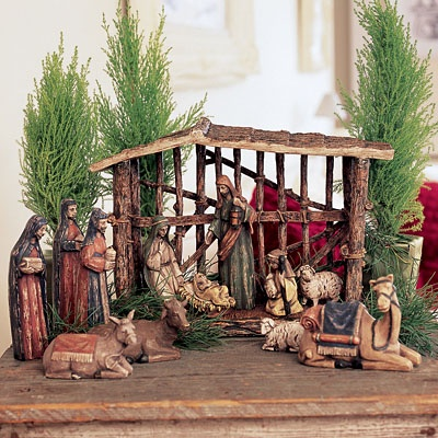 Santos Nativity Set Stable Only 15 References Pinterest Stables Shelves And Other
