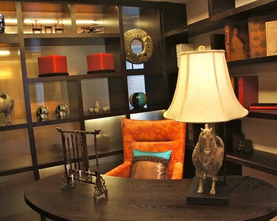Asian office decor