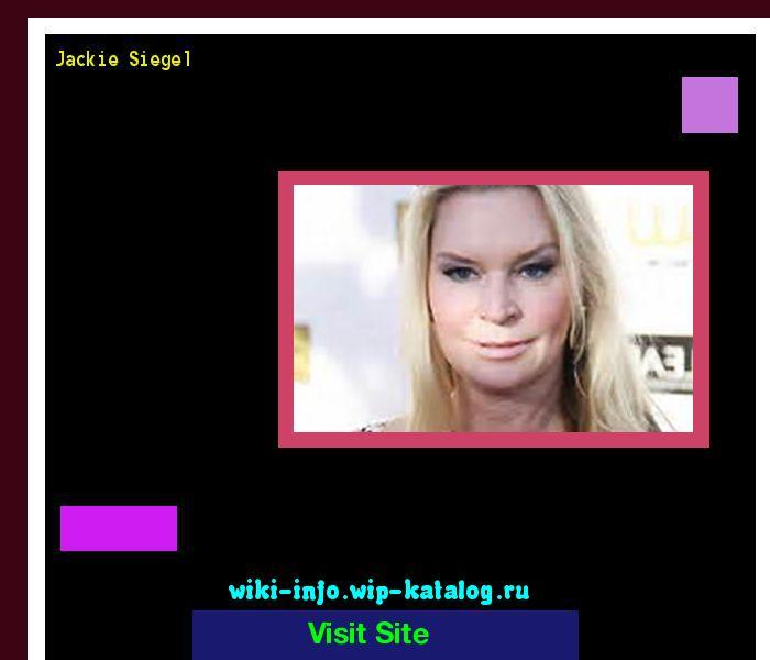 Jackie siegel 174306 - Results Now On wiki-info!