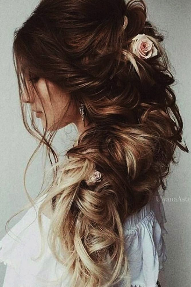 30 Wedding Hairstyles For Long Hair From Ulyana Aster ❤ wedding hairstyle from...