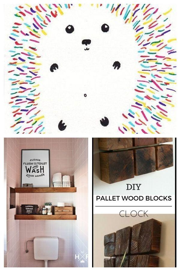 woodland animal home decor hedgehog print colorful hedgehog illustration hedgehog art print  illustration hedgehog art print