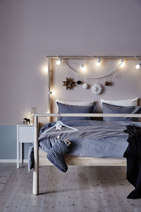 The bedroom isn't just for sleeping! It's where you cuddle up for a movie, finish that last bit of work and get up to face the day (even when the sun hasn't)! Find IKEA lighting options from table lamps to ceiling lights to LED lights!