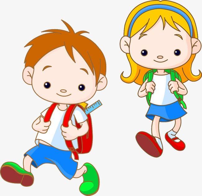 طفل أطفال المدارس المرسومة صفحة ويب مدرسة Png وملف Psd للتحميل مجانا Kids Vector Kids Clipart Cartoon Kids