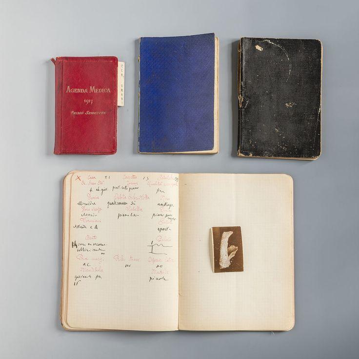 """Taccuini di lavoro (mostra """"Missione Egitto 1903-1920"""" del Museo Egizio di Torino) #torino #exhibition #museoegitto"""