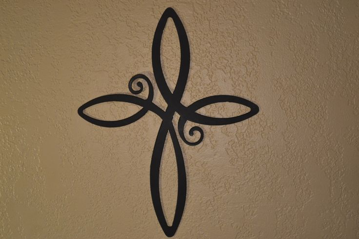 Cross Wall Art, Decorative Cross, Iron Cross, Infinity Cross Wall Art by CoastalIronDesigns on Etsy https://www.etsy.com/listing/219734529/cross-wall-art-decorative-cross-iron