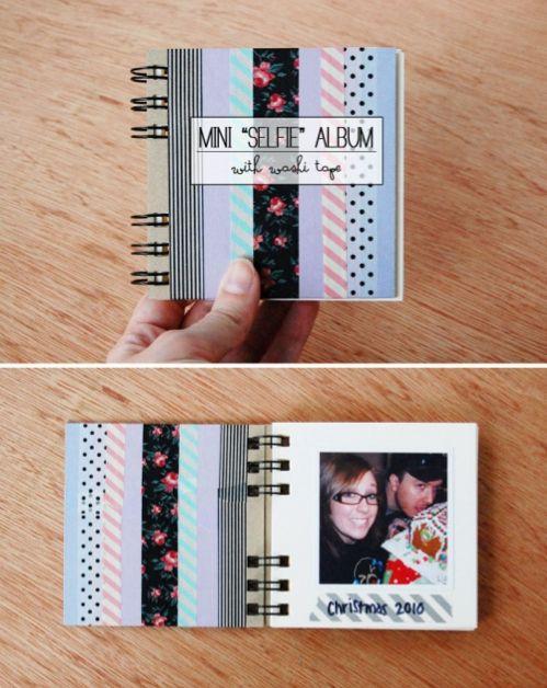 Washi Tape Mini Album | 10 Ways To Get Decorative With Washi Tape