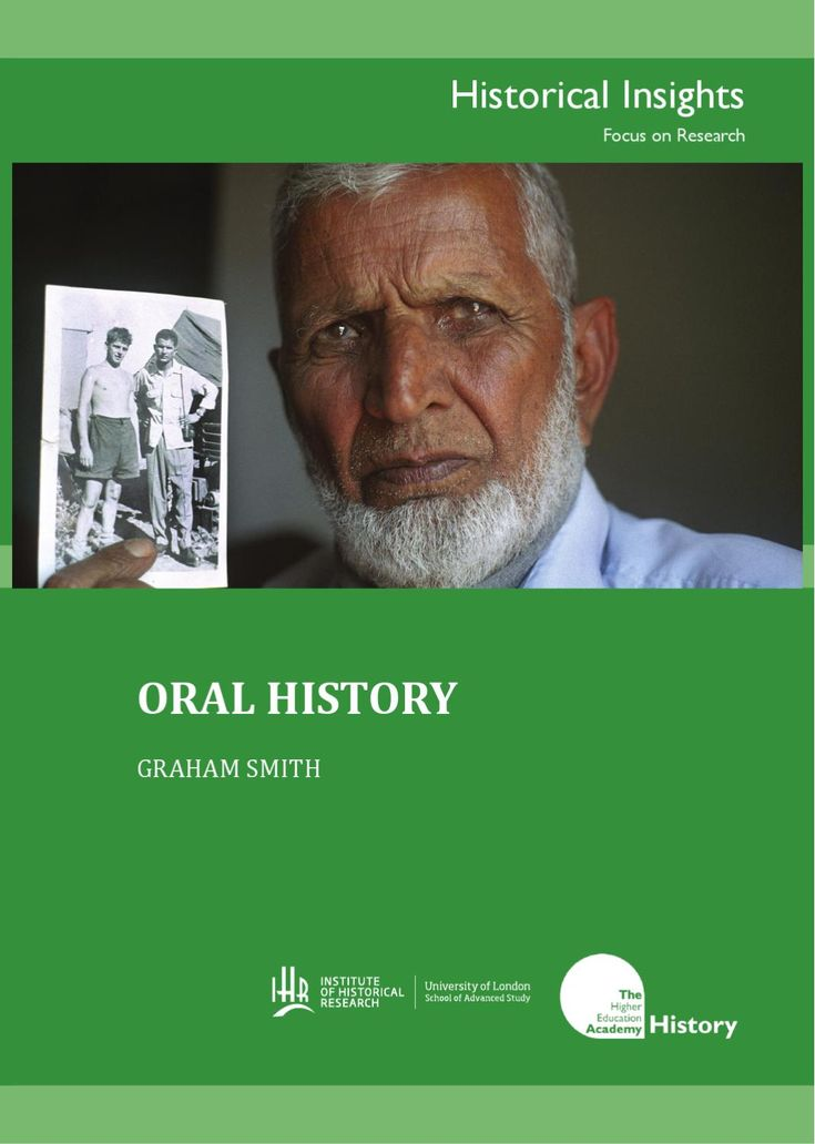 Graham Smith Oral History