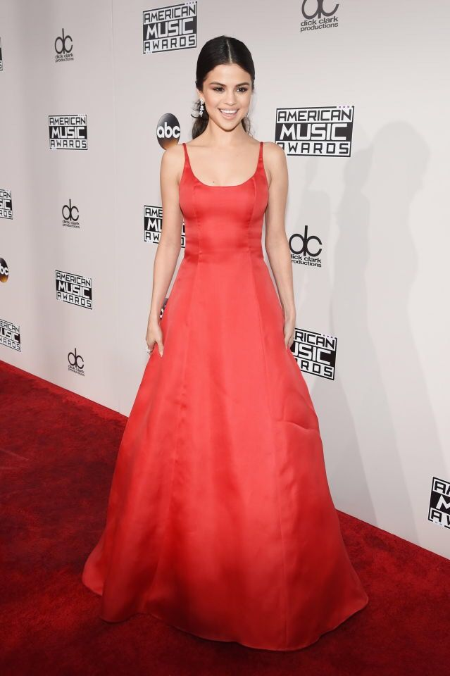 Selena Gomez attending the 2016 American Music Awards in Los Angeles, California