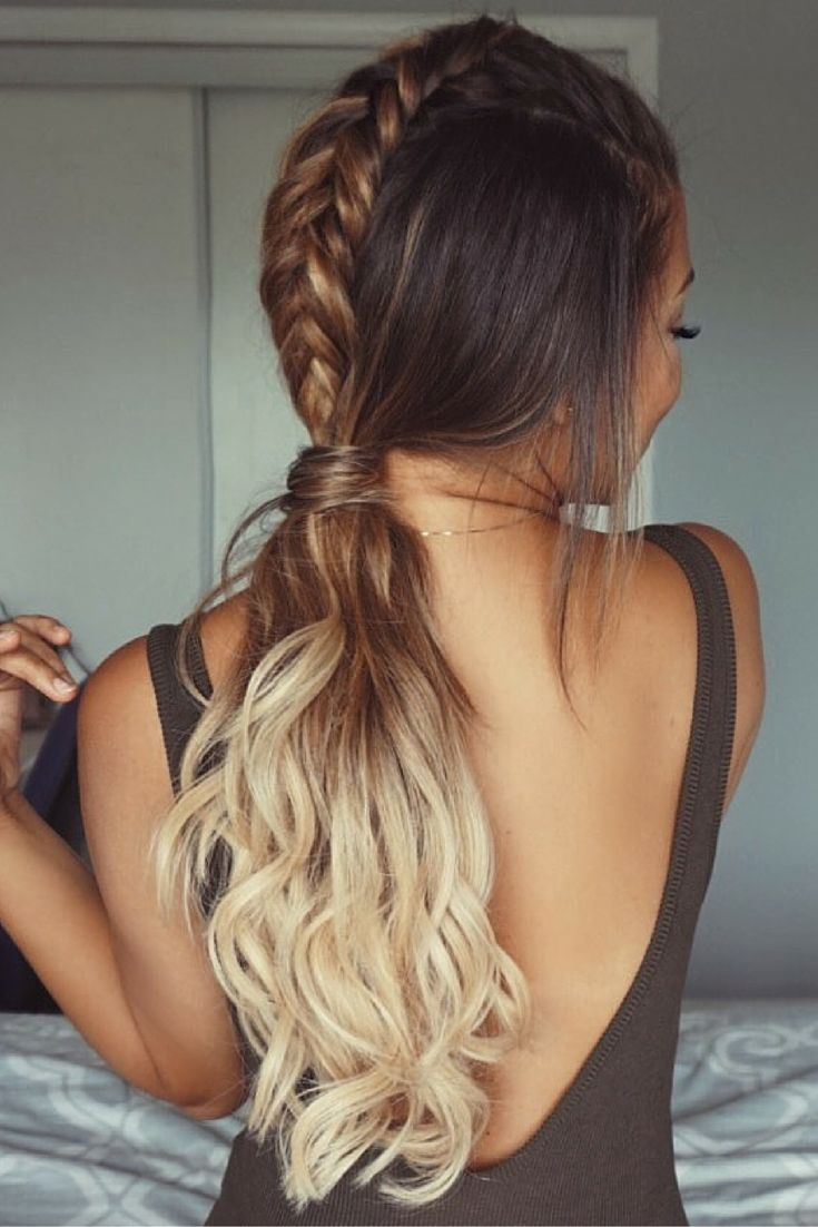 long hair extensions styles best 25 extension hairstyles ideas on braids 5600 | b836d6d5fb9993c76b57e75df7eb9767 extension hairstyles ponytail extension
