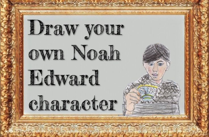 Draw your own Noah Edward character and send it to us. Our favourite character will be used in the next Noah Edward book. Please give them a name and a description. Send them to us at our twitters @da_boz152 and @toitisaac