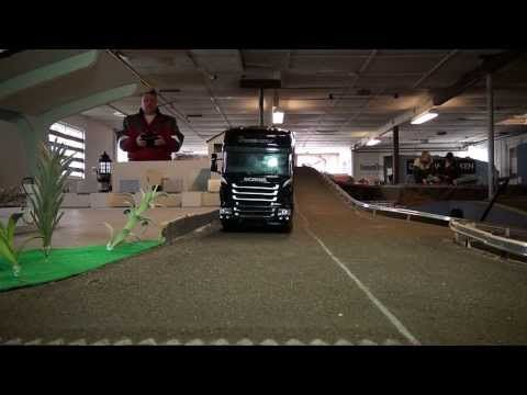 RC Trucks (Midtjysk RC Truck, A couple of fine Scaniaer) - YouTube