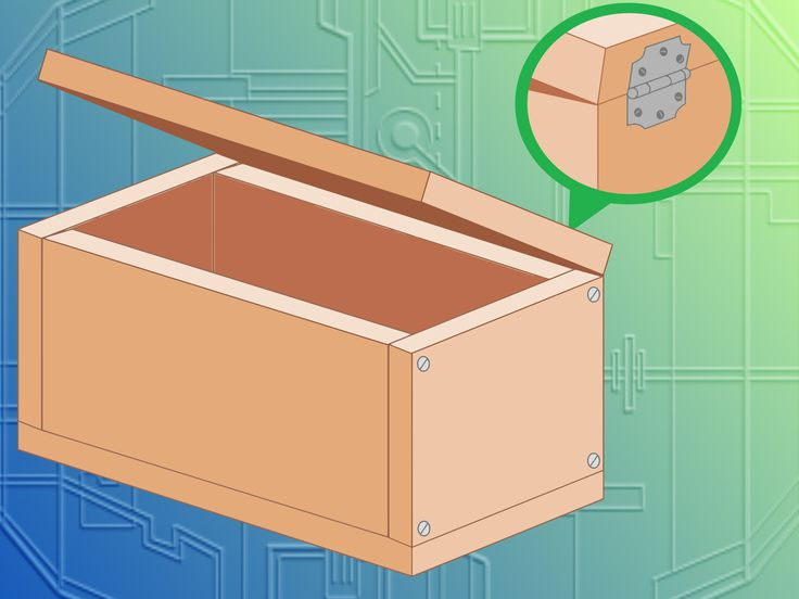 How to Make a Wooden Box -- via wikiHow.com http://www.wikihow.com/Make-a-Wooden-Box