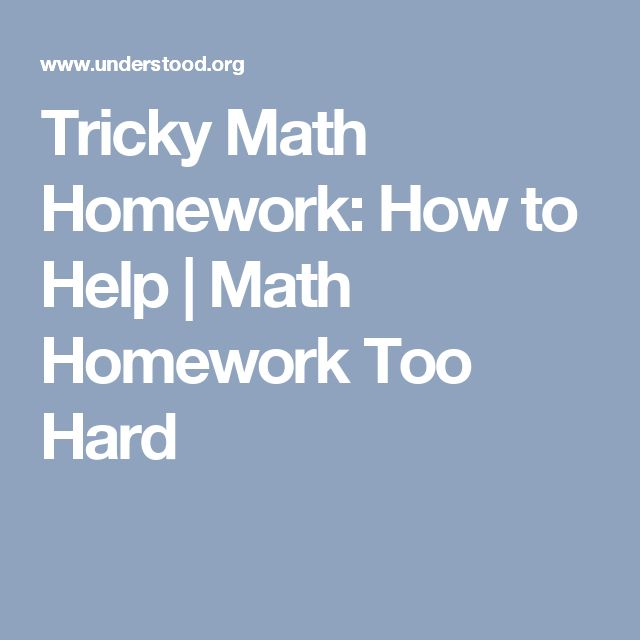 best math homework site