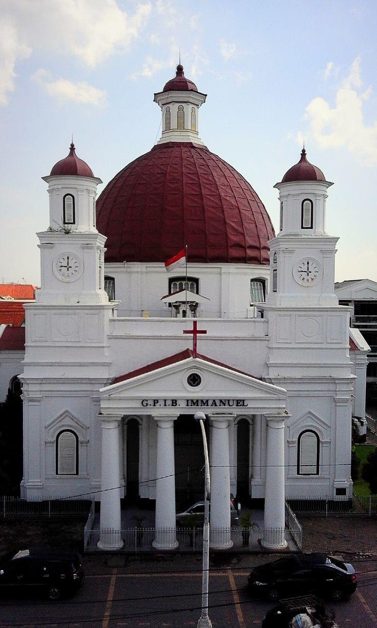 Gereja Blenduk (GPIB Immanuel) The oldest church in Semarang