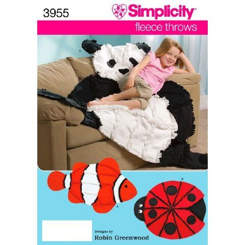 Simplicity sewing pattern 3955 pattern rag top quilt for Simplicity craft pattern 4993