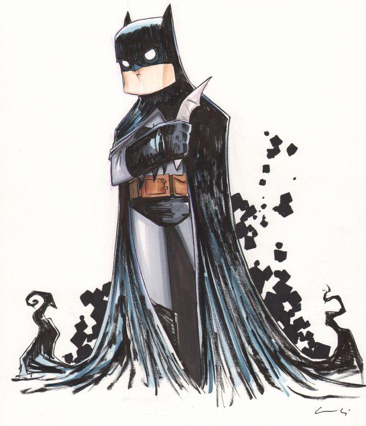 BATMAN.........by CHRIS UMINGA Comic Art