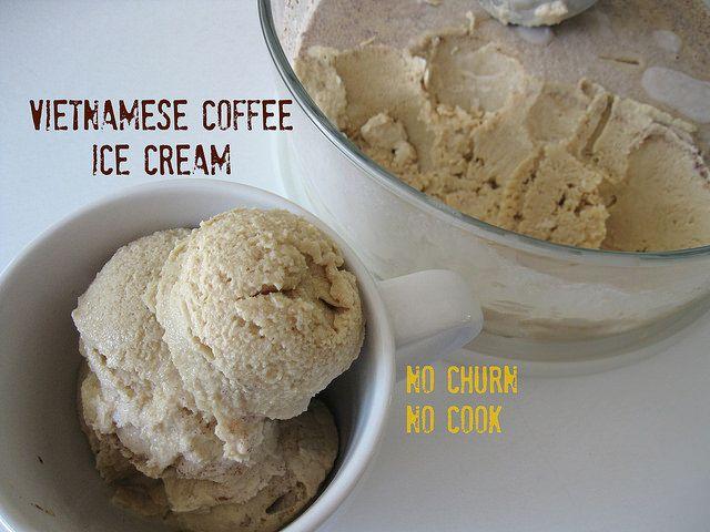 Vietnamese Coffee Ice Cream // Vanilla Sugar Blog