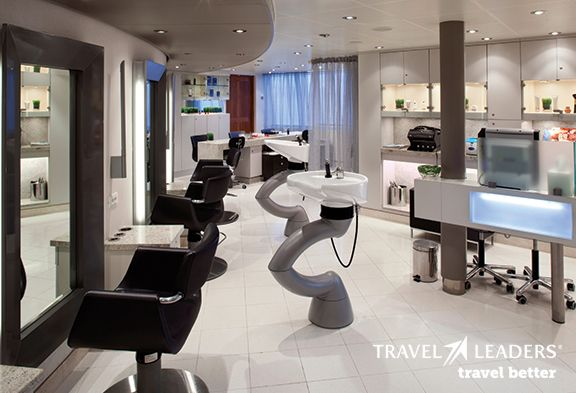 Hair Salon @adrienne seabourn Cruise