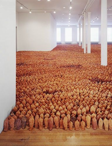 G is for (Antony) Gormley G is for Gross (144 . . . . but really 24,000 here)  How much more does many matter?