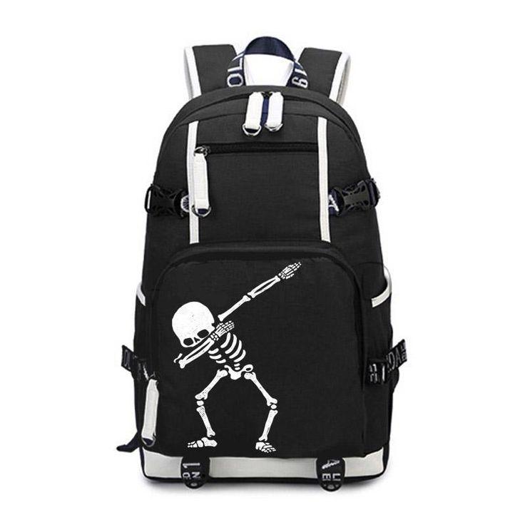 "The ""Dab"" Skeleton Backpack"