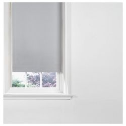 Check out Thermal Blackout Blind 90cm - Dove grey from Tesco direct