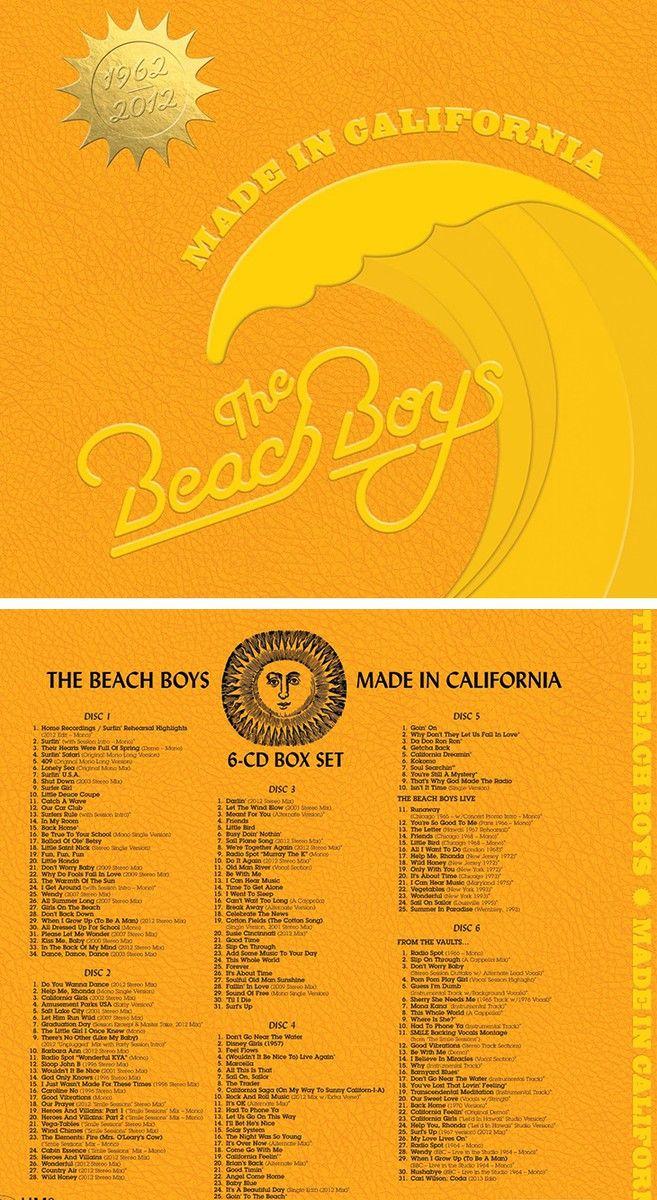 Beach Boys Box Set will make such a fabulous gift