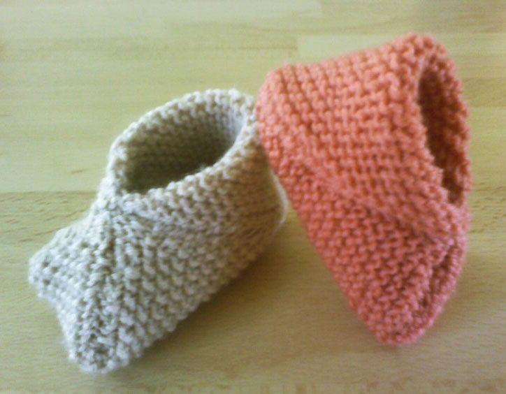 Petits carrés pour petits chaussons