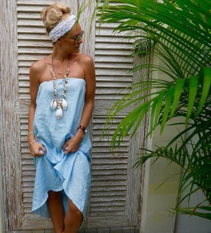 Sunday Strapless Dress