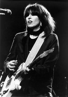 Chrissie Hynde-if I could have any super power, it would be to have the ability to sing like Chrissie.