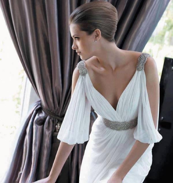 Beach Wedding Dress 2013 Flowing Summer Dresses Greek: 98 Best Gowns Of Amorgos Silk Images On Pinterest